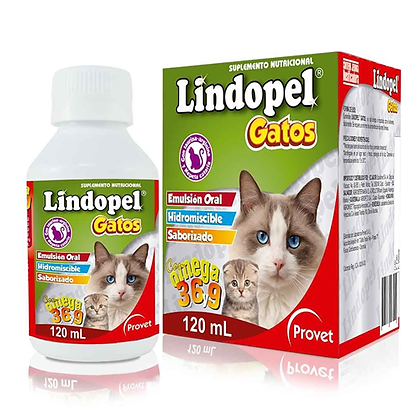 Lindopel gatos emulsión oral x 120 ml