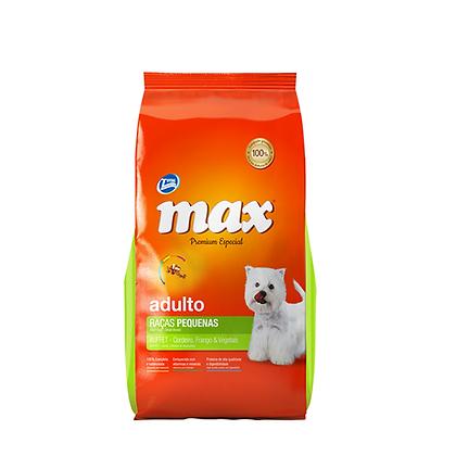Max premium adultos razas pequeñas sabor a pollo y vegetales