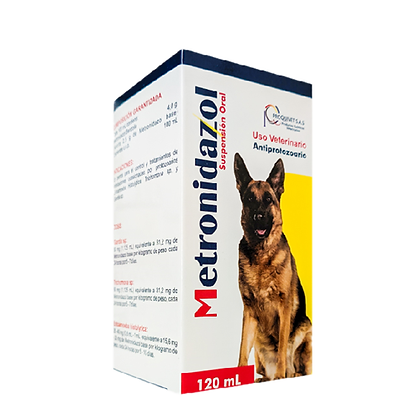 Metronidazol suspensión x 100 ml