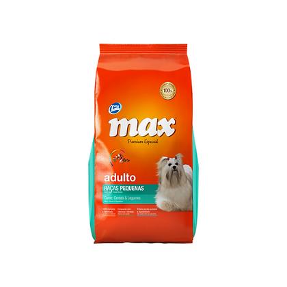 Max premium adultos razas pequeñas sabor a carne, cereales y vegetales