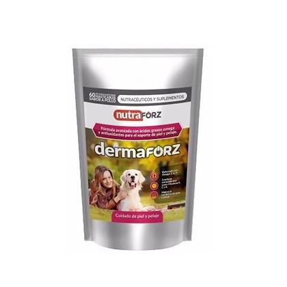Dermaforz canino x 30 bocados masticables