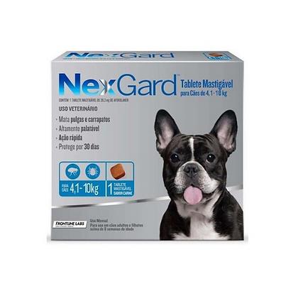 Nexgard antipulgas de 4.1 a 10 kg