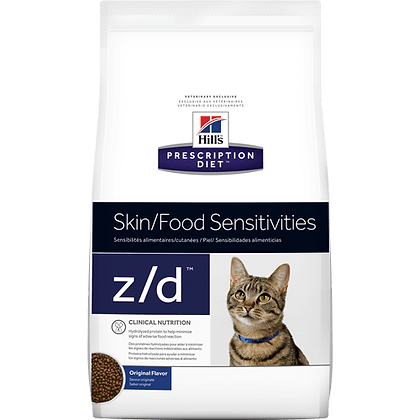 Hills prescription diet z/d skin food sensitivities