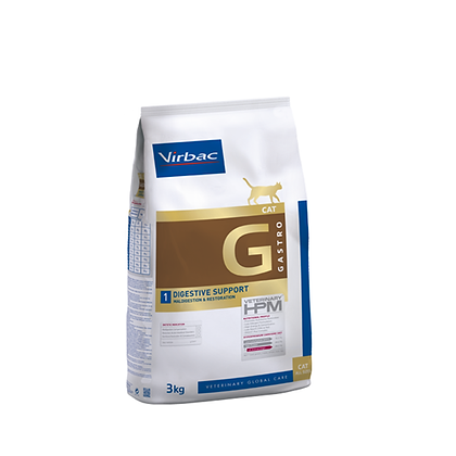 Virbac veterinary hpm digestive support gastro cat
