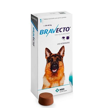 Bravecto antipulgas para perros de 20 a 40 kg