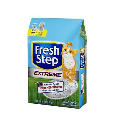 Arena para gato fresh step extreme x 7 Lbs