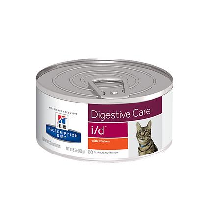Hills lata prescription diet i/d digestive care x 156gr
