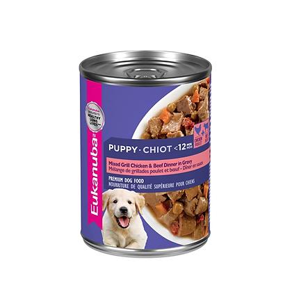 Eukanuba alimento húmedo cachorros receta pollo y carne 375 g