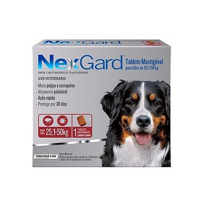 Nexgard antipulgas de 25.1 a 50 kg