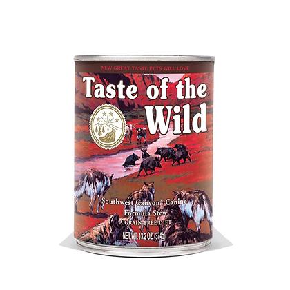Lata alimento humedo taste of the wild receta jabali en salsa x 374gr