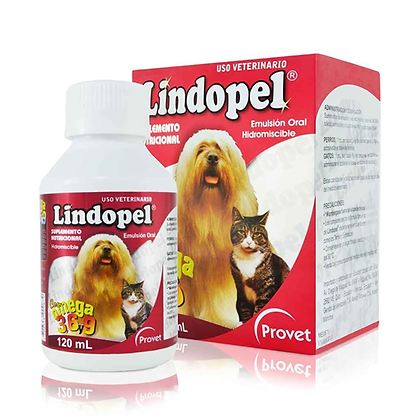 Lindopel perros emulsión oral x 120 ml