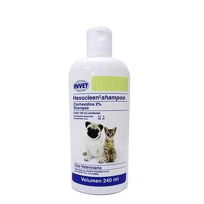 Shampoo hexocleen x 240ml