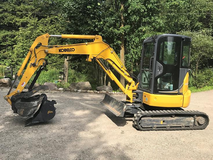 Kobelco SK35SR Excavator Daily Rental