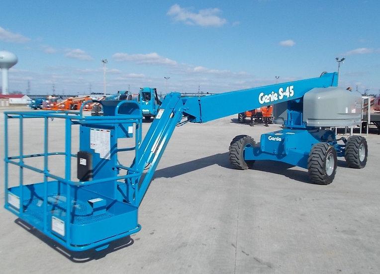 Genie S40 Telescopic Boom Lift