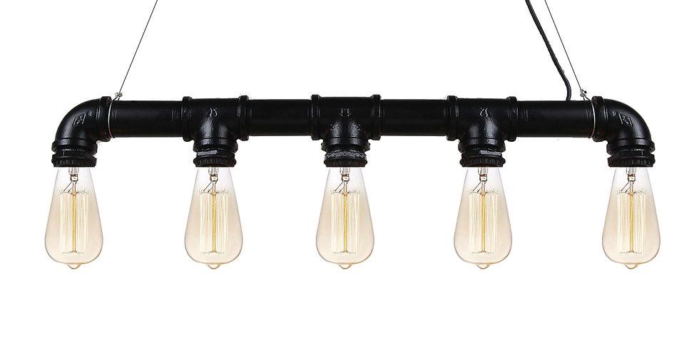 Industrial Steampunk Pipe Lighting