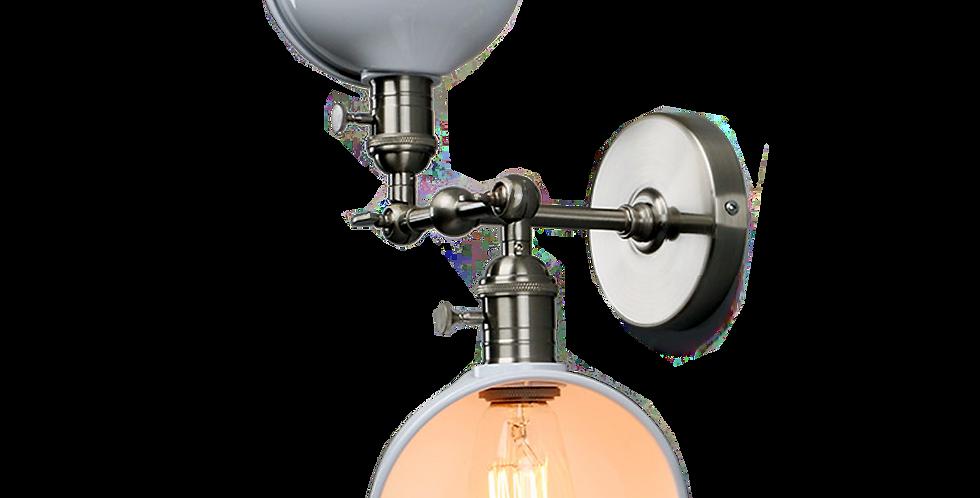 Adjustable Twin Wall Light