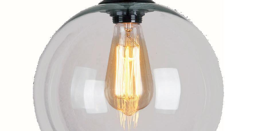 Art Deco Glass Pendant Light