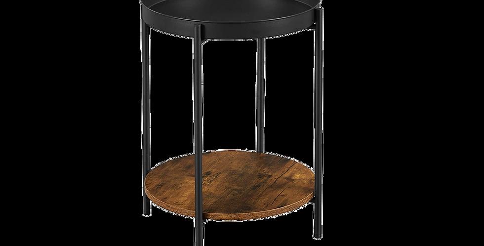 Circular Serving Side Table