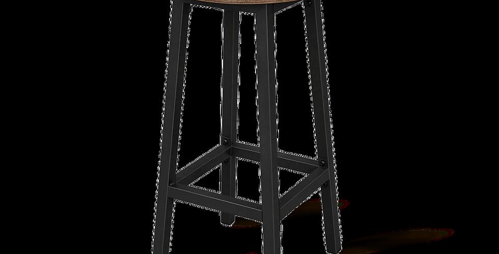 Industrial Style Bar Stool Set