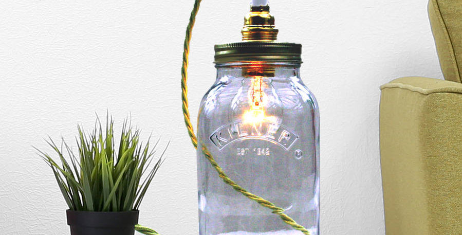 Bespoke Kilner Jar Table Lamp