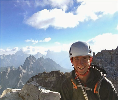 Chris Andrews - Climbing in the Dolomites
