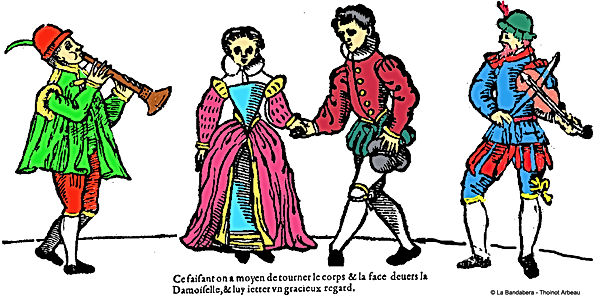 danseurs renaissance de Thoinot Arbeau