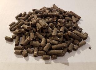 Dried Biomass Pellet