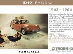 1963 - 1966 | ID19 - Break Luxe