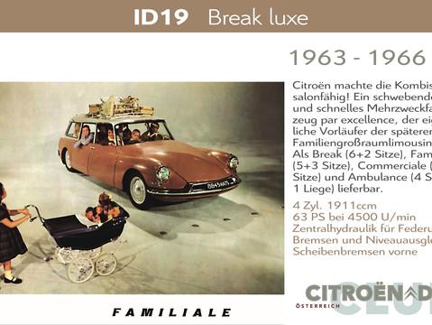 1963 - 1966   ID19 - Break Luxe