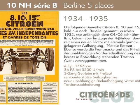 1934 - 1935   Rosalie 10NH