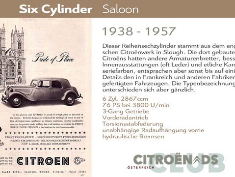1938 - 1957   Six Cylinder (Big Six)