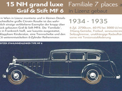 1934 - 1935 | Gräf & Stift MF6 (Citroën 15NH)