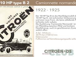 1922 - 1925 | 10HP type B2