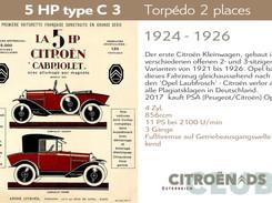 1924 - 1926 | 5HP type C, C2, C3