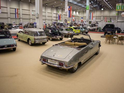DS21IE 1971 - Cabriolet mit hydraulischem Verdeck von Chapron