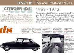 1969 - 1972 | DS21 IE - Berline Prestige Pallas