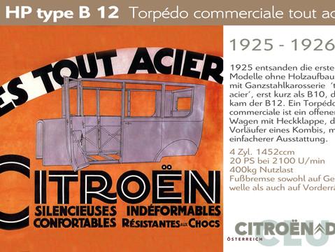 1925 - 1926   10HP type B12