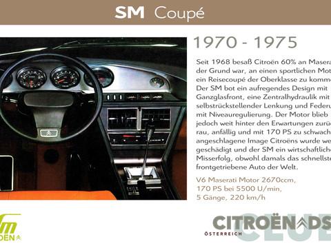 1970 - 1975   SM - Coupé