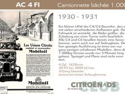 1930 - 1931 | AC 4 FI