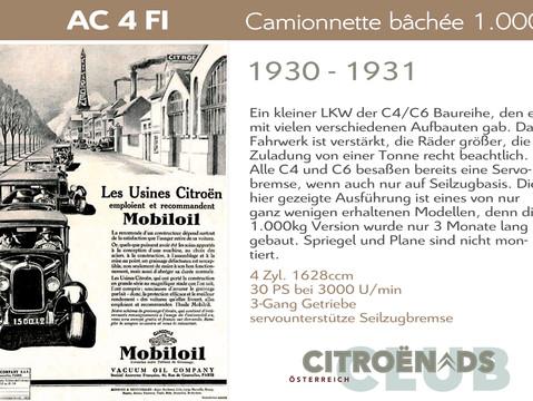 1930 - 1931   AC 4 FI