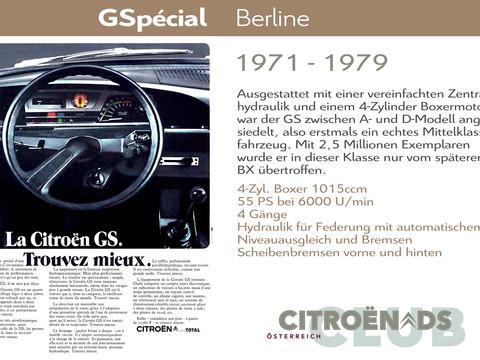 1971 - 1979   GSpécial