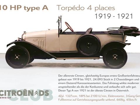 1919 - 1921   10HP type A