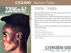 1976 - 1985 | CX 2400
