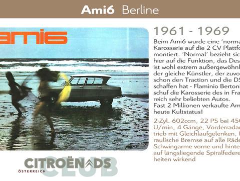 1961 - 1969   Ami 6