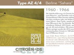 "1960 - 1966 | Type AZ 4/4 ""Sahara"""
