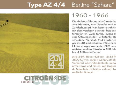 "1960 - 1966   Type AZ 4/4 ""Sahara"""