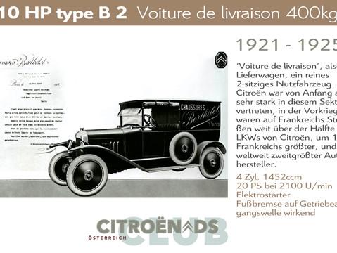 1921 -1925   10HP type B2