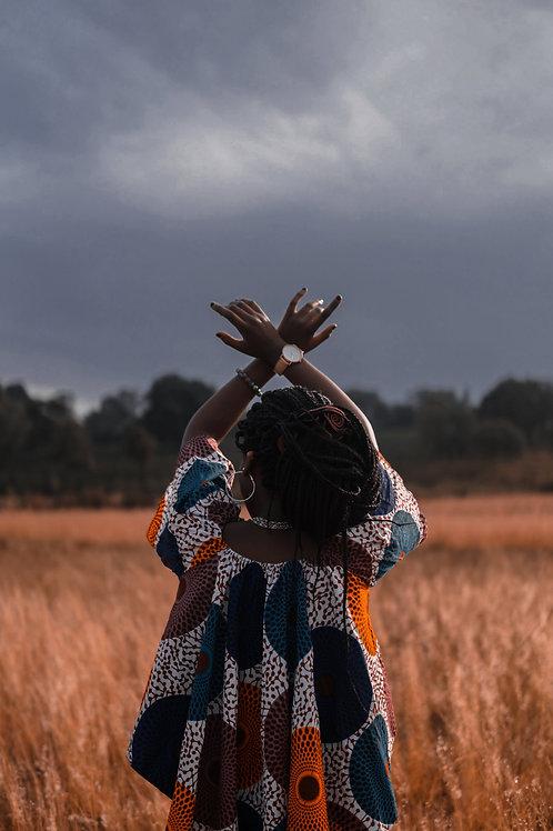 Africa woman Gratitude
