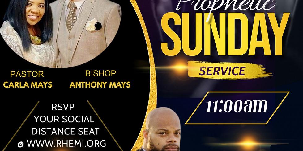 Prophetic Sunday Service: Guest: Prophet Aaron MCCray