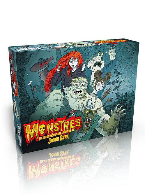 Monstres - Boîte d'initiation